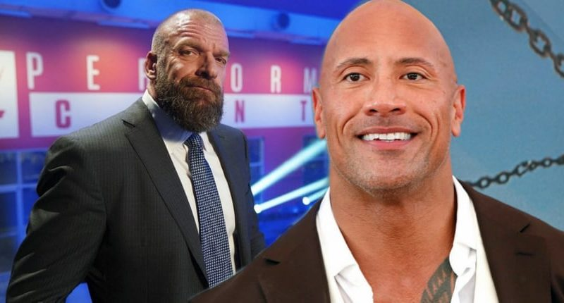 Triple H and The Rock