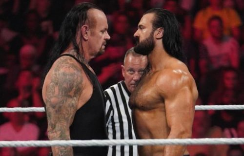 Drew McIntyre reveals advice he got from the Undertaker