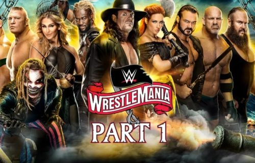 Podcast: WrestleMania Night 1 Feels Like a B Show