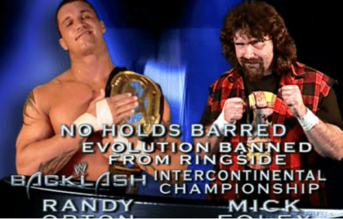 Randy Orton responds to Mick Foley's Twitter statement regarding Backlash 2004 match