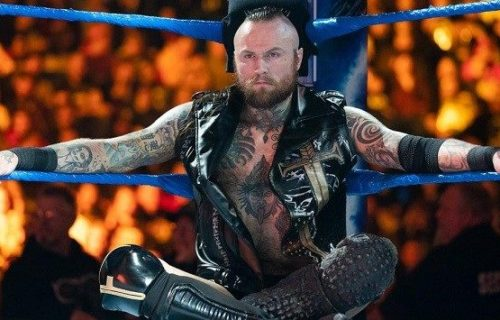 Aleister Black reveals what Triple H said to him when he signed with WWE