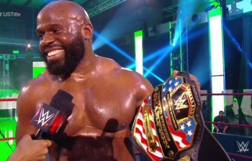Apollo Crews won WWE United States Title