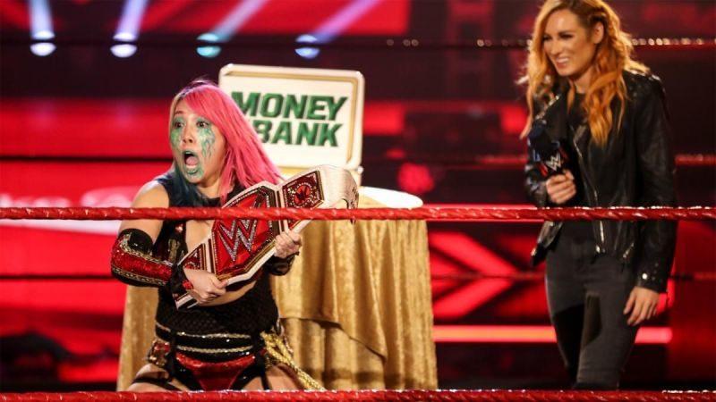 Asuka Becky Lynch RAW Women's Championship