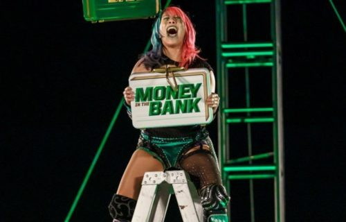 Asuka talks winning Money in the Bank ladder match