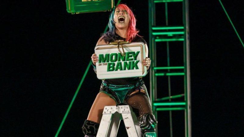 Asuka RAW Women's Champion Money in the Bank