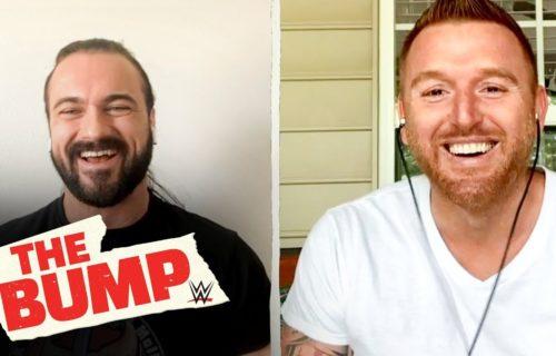 Drew McIntyre helping Heath Slater following WWE release