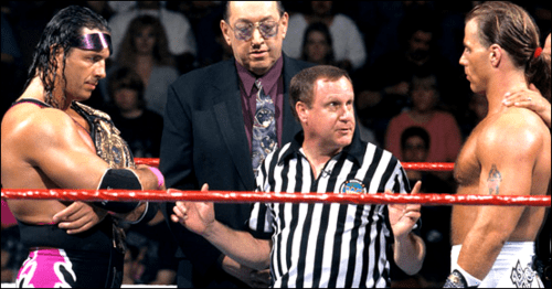 Earl Hebner claims the Montreal Screwjob was a work