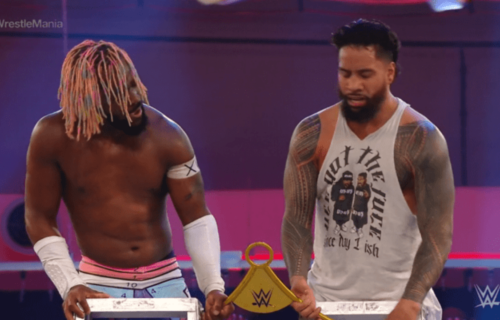 Jimmy Uso reportedly out with serious knee injury
