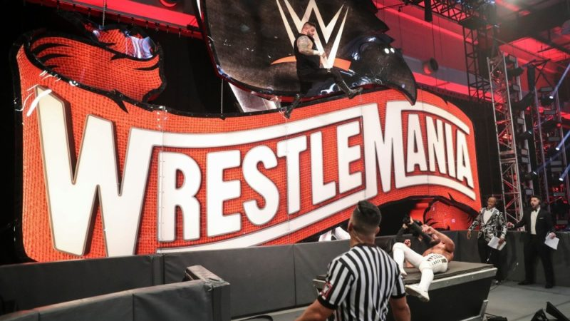 Kevin Owens WrestleMania 36 Seth Rollins