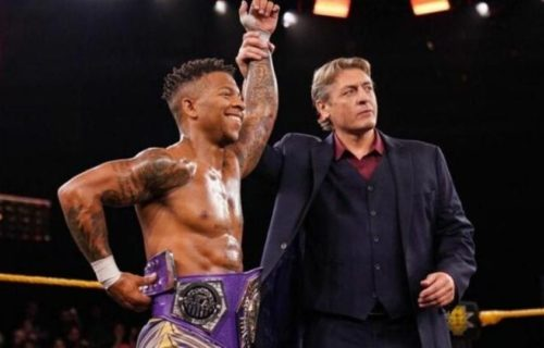 """Lio Rush talks """"backstage heat"""" with WWE and Triple H"""