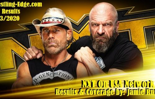 WWE NXT On USA Network Results (5/13/20)