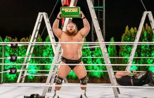 Otis reveals his reaction from when he found out he was winning MITB