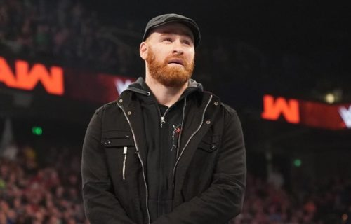 WWE management reportedly unhappy with Sami Zayn for pulling out of tapings