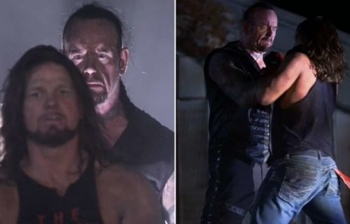 AJ Styles continues to focus on The Undertaker