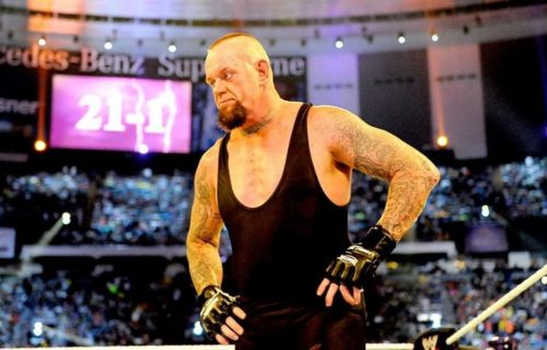 The Undertaker on how long he wanted his WrestleMania streak to last