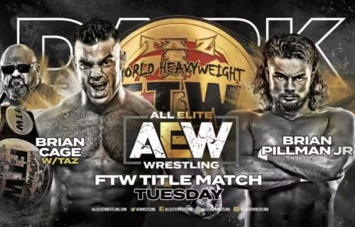 FTW title to be defended for first-time on AEW Dark on Tuesday
