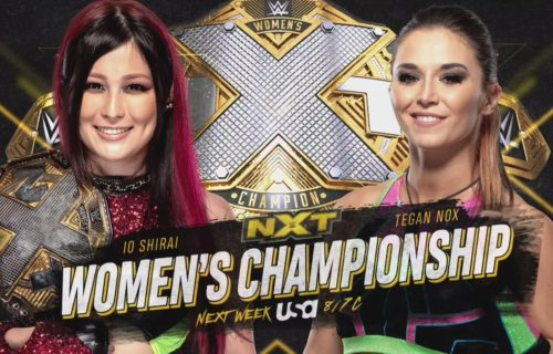 Two big matches set for WWE NXT on 7/15