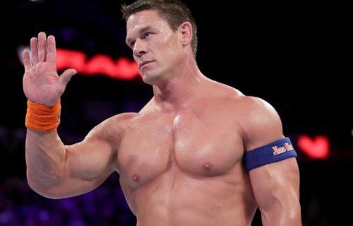 John Cena says in-ring career is 'not over'