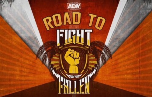 Road to AEW Fight for the Fallen (Video)