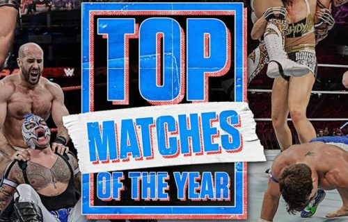 WWE releases list of 10 best matches in 2020