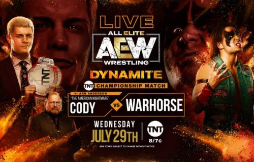 Cody Rhodes to defend TNT Championship against top independent superstar WARHORSE