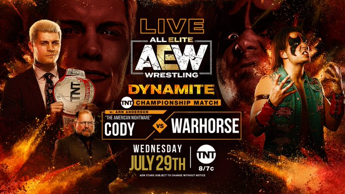 AEW Cody Rhodes WARHORSE