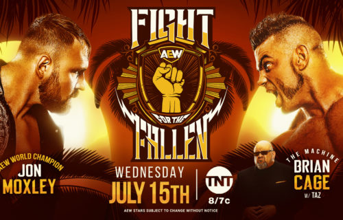 AEW Fight for the Fallen results July 15: Brian Cage vs. Jon Moxley