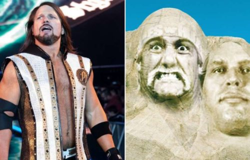 AJ Styles includes Hulk Hogan and Ric Flair as part of his Mount Rushmore of wrestling