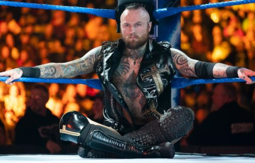 Update on Aleister Black's NXT move request