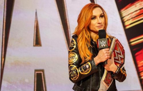 Becky Lynch discusses her first trimester of pregnancy