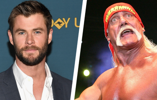 Chris Hemsworth is excited about playing The Hulkster