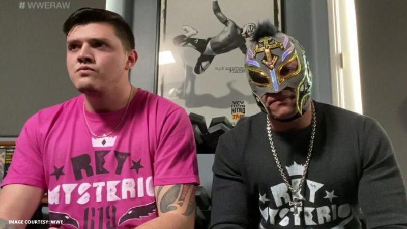 Dominick Rey Mysterio RAW