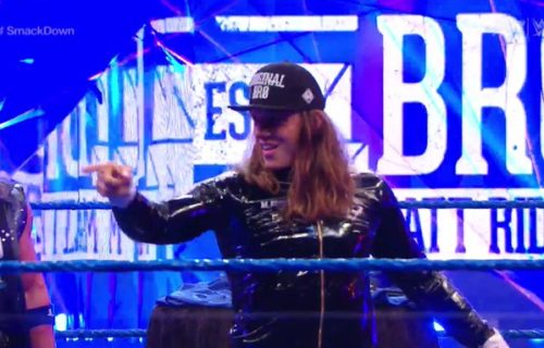 Matt Riddle has signed new WWE contract