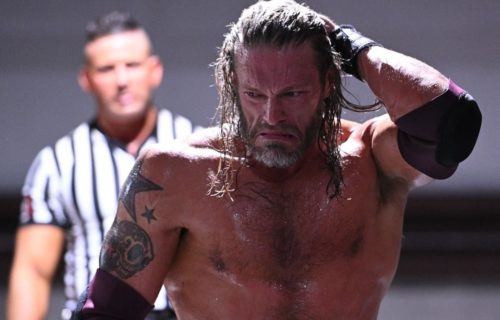 Report: Edge's match for WrestleMania 37 already decided
