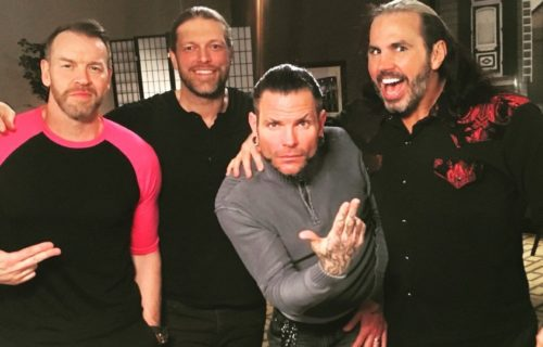 Edge discusses Matt Hardy/Lita saga; his relationship with The Hardyz prior, Jeff's reaction