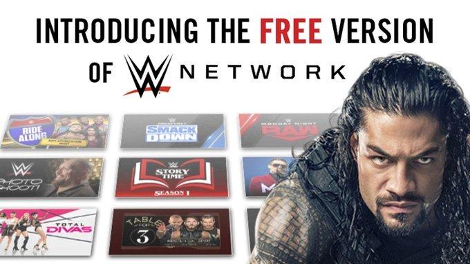 Free WWE Network
