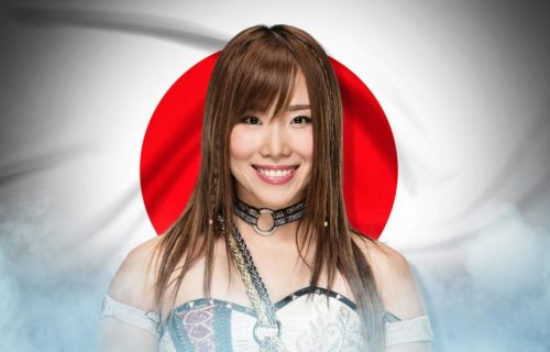 Kairi Sane's appearance on Raw tonight will be her last for WWE