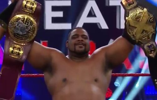 Keith Lee defeats Adam Cole to become double Champion