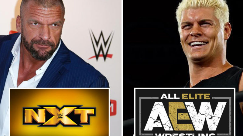 Triple H (NXT) and Cody Rhodes (AEW)