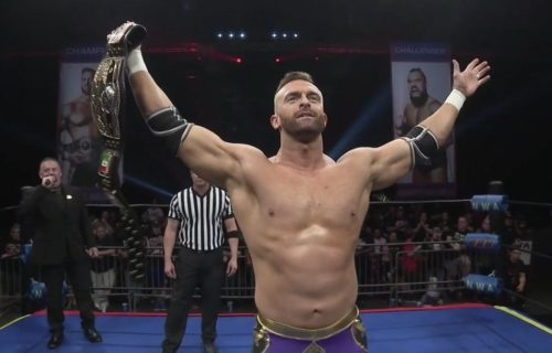 Nick Aldis Reveals If He'll Defend NWA Title In AEW