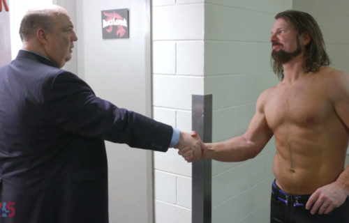 AJ Styles says colleagues despise Paul Heyman, reveals interesting backstage conversation
