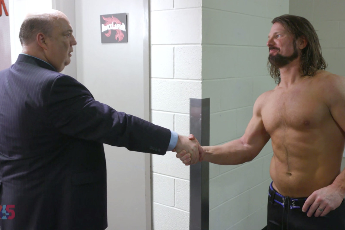 WWE IC Champion AJ Styles Goes On A Rant Blasting Paul Heyman 1