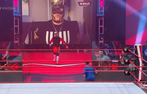 Fans used as audience for this week's Raw