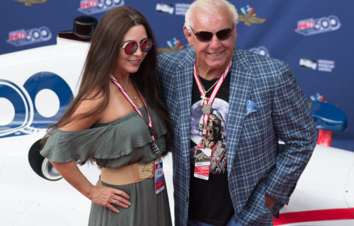 Ric Flair says he had to take his wife to hospital because of COVID-19