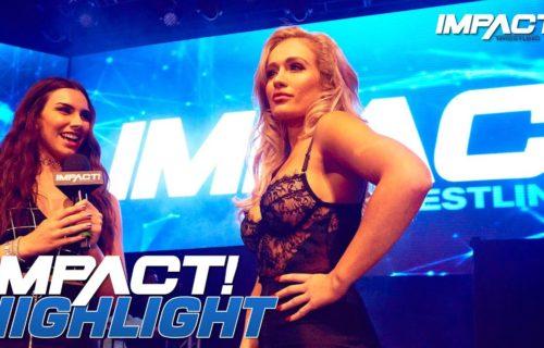 Scarlett Bordeaux's red hot IMPACT Wrestling debut