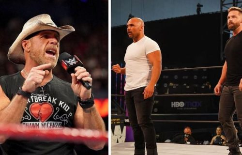 FTR member takes shot at Shawn Michaels on his birthday using Bret Hart, Road Dogg responds