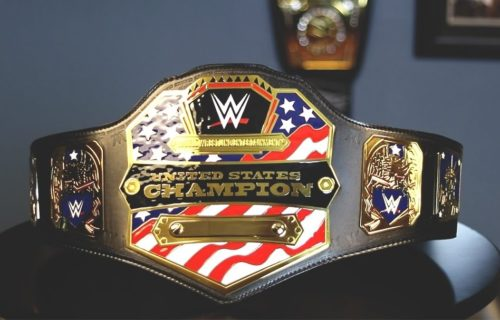 Report: WWE to introduce new design for US Championship on Raw