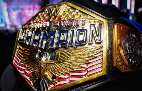 WWE Unveils new design for United States Title