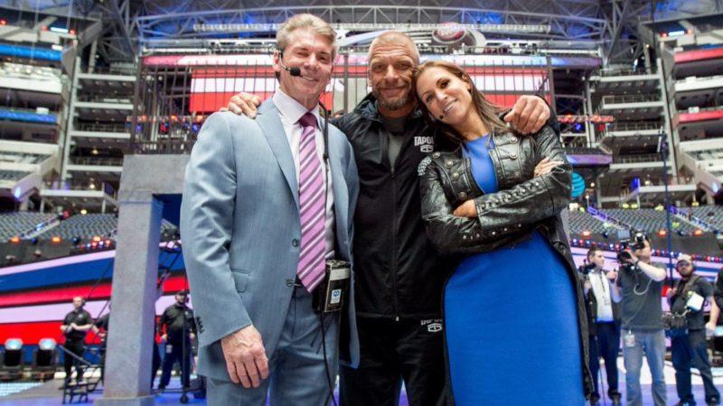 Vince-Triple H-Stephanie