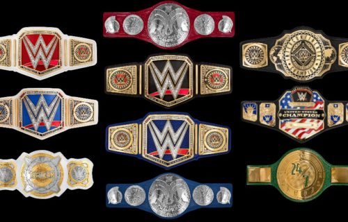 WWE could be planning more title belt design changes